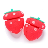 Клубничные бигуди [ETUDE HOUSE] Strawberry Sponge Hair Curlers