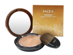Пудра-бронзатор [THE FACE SHOP] Face It Designing Dual Shading Pact