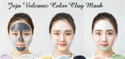 Цветная маска с вулканическим пеплом [INNISFREE] Jeju Volcanic Color Clay Mask