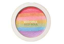 Румяна-хайлайтер [THESAEM] Eco Soul Prism Blusher