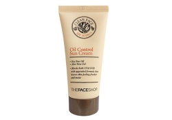 Солнцезащитный крем SPF 35 [THE FACE SHOP] Clean Face Oil Control Sun Cream