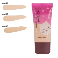 Тональный крем  [TONY MOLY] Cats Wink Shiny Skin Foundation