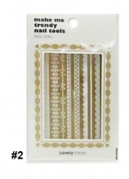 Стикеры для ногтей [THE FACE SHOP] Lovely ME:EX Make Me Trendy Nail Seal