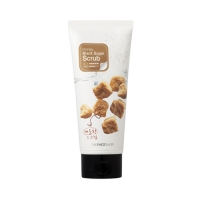 Сахарный скраб [THE FACE SHOP] Smart Peeling Honey Black Sugar Scrub