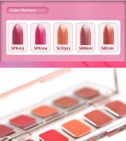 Палетка для губ [MISSHA] Glam Art Rouge Mini 5 Color Lip Palette