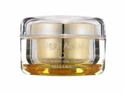 Улиточный крем [MISSHA] Super Aqua Cell Renew Snail Cream
