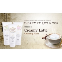 Пенка для умывания [MISSHA] Creamy Latte Cleansing Foam