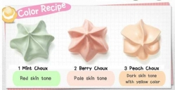 База под макияж [ETUDE HOUSE] Sweet Recipe Baby Choux Base 10шт.