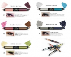 Карандаш-тени для век 2 в 1 TOO COOL FOR SCHOOL Twin Color Eye Crayon
