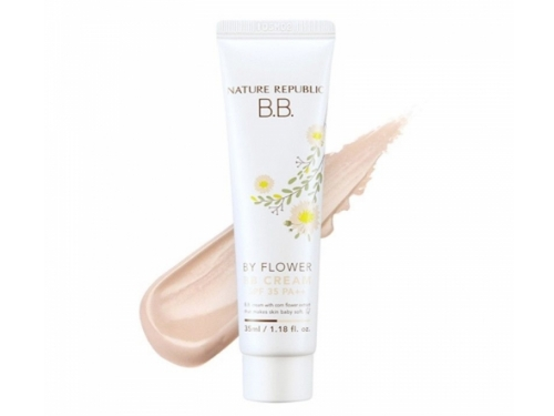 Увлажняющий BB крем [NATURE REPUBLIC] By Flower BB Cream