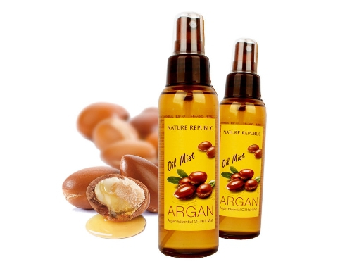 Аргановое масло-спрей для волос  [NATURE REPUBLIC] Argan Essential Oil Hair Mist
