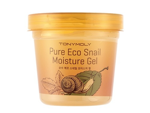 Улиточный гель для лица и тела [TONY MOLY] Pure Eco Snail Moisture Gel