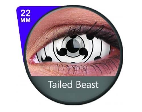 Sclera lens Tailed Beast