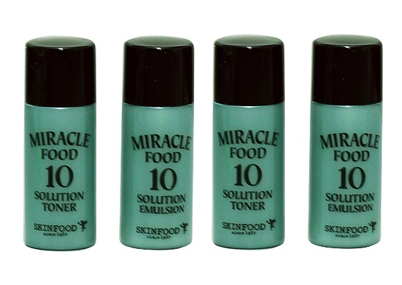 Набор миниатюр [SKINFOOD] Miracle Food 10 Solution Gift Set
