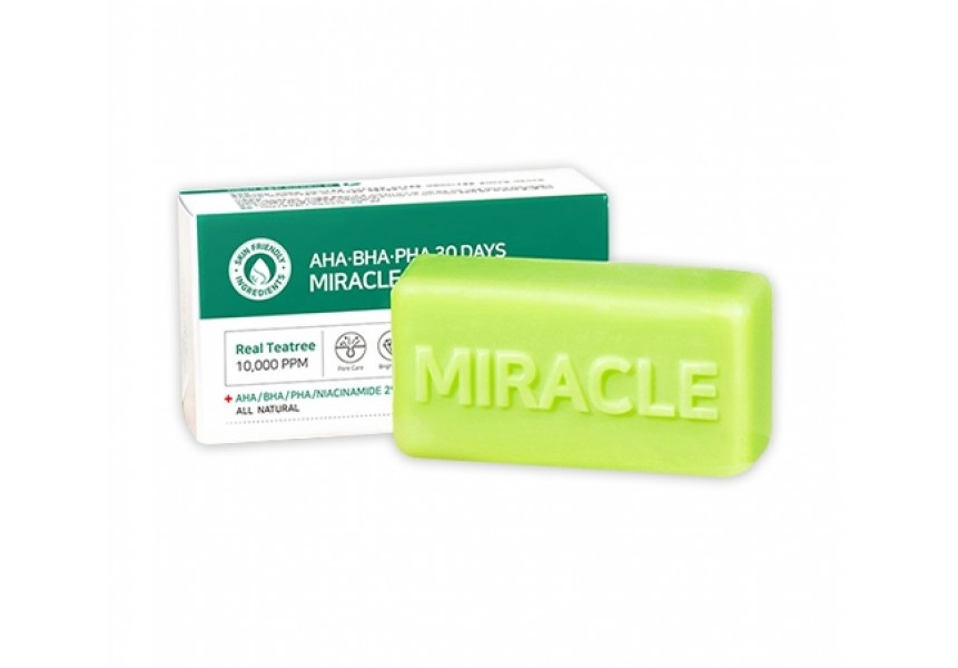 Кислотное мыло [SOME BY MI] AHA BHA PHA 30 Days Miracle Cleansing Bar