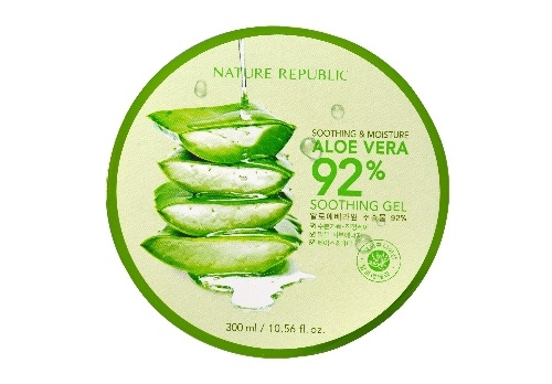Увлажняющий гель с Алое [NATURE REPUBLIC] Soothing & Moisture Aloe Vera 92% Soothing Gel