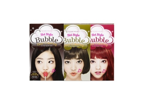 Краска для волос без аммиака [ETUDE HOUSE] Bubble Hair Coloring