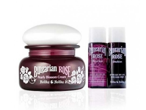 Увлажняющий набор [Holika Holika] Bulgarian Rose Pearly Blossom Cream Special Set