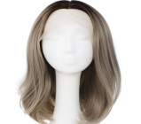 Natural Brown Lace Front Straight Wig