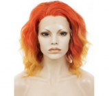Lace Front Cherry Red Wig
